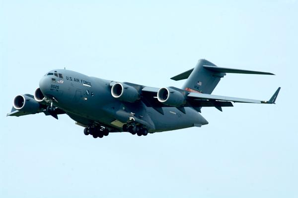 The Air Force's Life Cycle Management Center, based at Wright-Patterson near Dayton, awarded Boeing an $895 million contract for upgrades to the C-17 Globemaster.