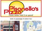 No. 31: Pisanello'sThis dine-in pizza joint now has only one Dayton-area location in Franklin, but used to have a location in Kettering.