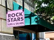 Rock Stars Subs and Salads15 E. First St.Rock Stars offers delivery and speedy take-out lunch service from its home in the Biltmore building.