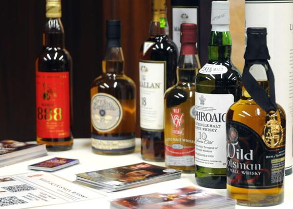 More than 50 people attended the DBJ's Executive Scotch Tasting dinner on Tuesday to benefit Big Brothers Big Sisters of the Greater Miami Valley.