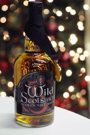 "The Wild Scotsman ""Black"" was one of the five whiskys tasted."