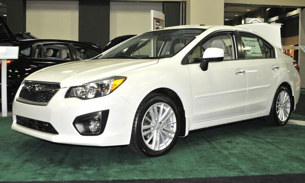 Subaru's June 2012 sales were helped by the redesigned Impreza compact.