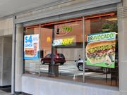 SubwaySubway has two locations - 45 S. Main Street and 125 N. Ludlow St. - for quick healthy sandwiches.