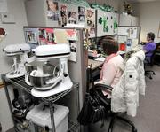 The customer service call center at the KitchenAid factory in Greenville.