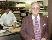 Josef Rief, owner of L'Auberge in Kettering, prior to the restaurant's closing last month.
