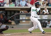 Dayton Dragons Theo Bowe (5) during a game against the Lansing Lugnuts at Fifth Third Field Tuesday, June 28, 2011.