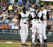 Dayton Dragons game against the Lansing Lugnuts at Fifth Third Field Tuesday, June 28, 2011.