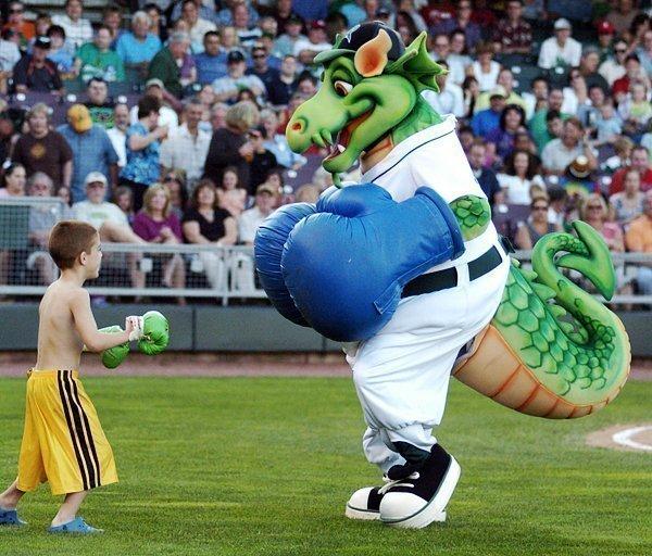 Dayton Dragons win highest minor league honor.