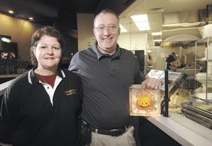 Fast Growth: Cynthia and Ray Wiley, co-owners of Hot Head Burritos, plan to open six new local restaurant locations.