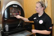 High-Tech Dispenser: LaRosa's installed the Coca-Cola Freestyle machine at its four Dayton-area locations. The machine allows users to order one of 100 flavor combinations.