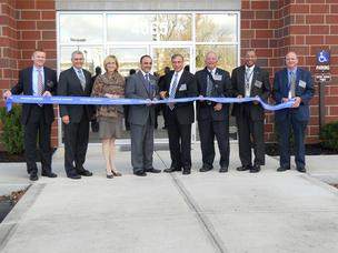Northrop Grumman Corp. cut the ribbon on its new Beavercreek site.