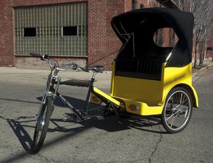 Bicycle taxicab