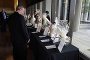 The Heart Ball featured a silent auction.