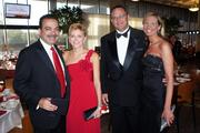 (left) Mark and Martha Shaker, chairs of the 2012 Heart Ball. Kathy Harper and her husband.