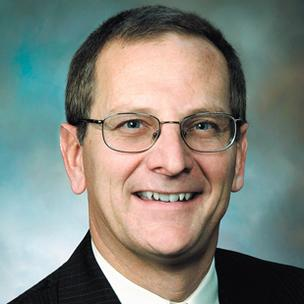 Roger Furrer, regional president of Greater Dayton/Northern Ohio for First Financial Bancorp