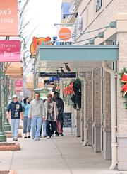 Awaiting Black Friday: Retail hubs from the Dayton Mall to The Greene (above) await Black Friday, the day after Thanksgiving that marks the kickoff of the holiday retail season.