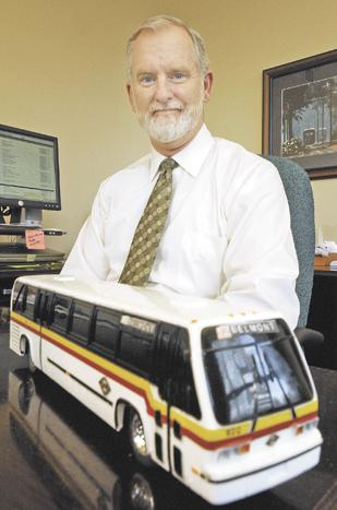 Smooth Ride: Mark Donaghy is executive director of the Greater Dayton Regional Transit Authority.