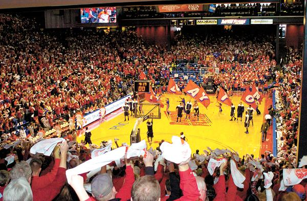 Dayton ranked among the Top 10 college basketball TV markets in the country.