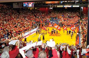 Ohio State will travel to the University of Dayton to play its first NCAA tournament game.