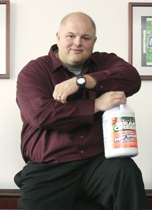 Cleaning Up: Richard Owen's firm, CR Brands, makes Biz, Oxydol, Mean Green and other cleaning products