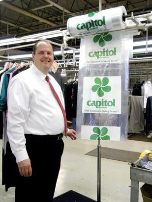 Business Owner: Brian Weidner is the owner of Capitol Cleaners in Dayton. He bought the company in 2008 and recently opened two new locations.