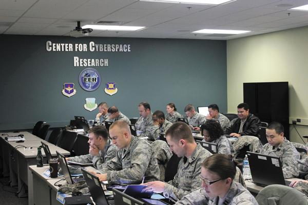 New Battlefield: The Center for Cyberspace Research at Wright-Patt educates military and civilians on defending against cyber threats.