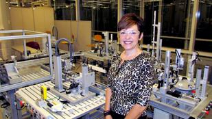 Member Services: Angelia Erbaugh is president of the Dayton Region Manufacturers Association, or DRMA. The Dayton-based organization changed its name and rebranded itself in an effort to reach more members. Erbaugh is in Sinclair Community College's AIM Center, which looks to train manufacturing workers.