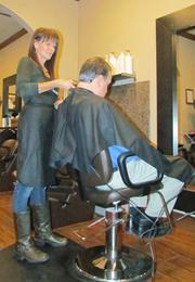 Hair Growth: Stylist Kelle Miller at The Salons at The Greene.