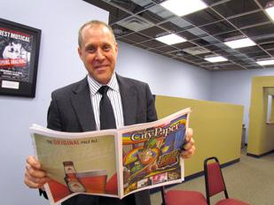 Taking Ownership: Paul Noah, publisher of the Dayton City Paper, bought the weekly arts and entertainment paper late last month.