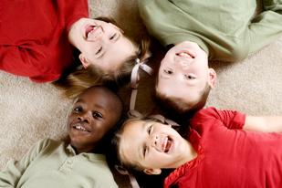 The Triangle is home to plenty of kids that help to lower the median age of the area.