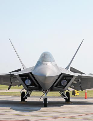 Lockheed Martin is moving 560 jobs related to the F-22 Raptor to Fort Worth.