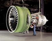 Products: A GE90-115B engine which powers a Boeing 777. Parts of the engine are made in Dayton.