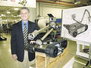 Moving Ahead: Jim Whalen, CEO of GemCity Engineering and Manufacturing, is one of many executives worried about a potential new federal approval process for medical devices. GemCity is a contract manufacturer that builds everything from robots used by the military to equipment that coats eyeglass lenses. Last year, it got into medical device manufacturing when it purchased Pennsylvania-based Vistek.