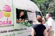 Interaction:  Go Cupcake, another food truck operating locally.