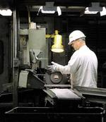 Manufacturing grinds back to life