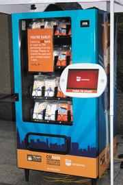 Funny Man: The company did this vending machine for Conan O'Brien's TBS talk show.