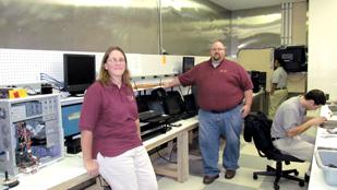 Computer Services: Krista Zechar and Ben Zechar, with Dayton-based Interlink LLC, which just launched a computer service and retail store called PCRX911.