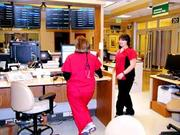 Hospital Jobs: Kettering Health Network has 300 open health care positions. (Above) Nurses at Kettering Medical Center's emergency department.