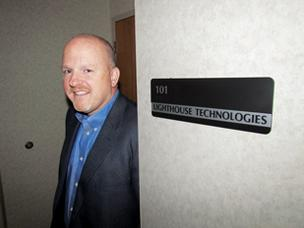 Growth Spurt: Jeff Van Fleet is president and CEO of Beavercreek-based Lighthouse Technologies, which has grown from 42 to 53 workers in the past six months.