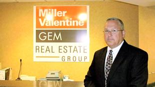 Growth Plan: Dave Dickerson, president and partner of Miller Valentine/Gem Real Estate Group, said the firm is moving 26 workers downtown and investing in its new headquarters.