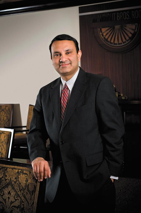 Sundaram Narayanan was promoted this month to provost, which is the university's chief academic officer and chief operating officer.