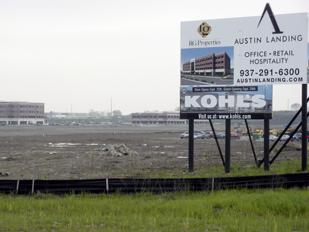 Growing Development: RG Properties is developing the 142-acre Austin Landing and has inked three new tenants.