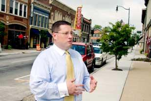 Air Park Plans: Clinton County's Chris Schock hopes to use a new report to help guide efforts to restore jobs in Wilmington lost when DHL left the city.