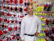 Pet Products: Bill Marshall is manager of the Miamisburg Superpetz store, which opened this week. The store is the first redesigned location for Superpetz, which is transitioning from larger warehouse-style stores to smaller, more manageable ones.