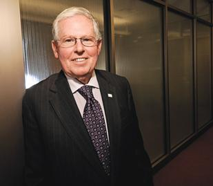 Making His Mark: Berkwood Farmer, dean of Wright State University's Raj Soin College of Business, is retiring in June after 11 years. He will remain at the university as a professor. Farmer helped transform the business school during his tenure.