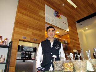 Tasty Growth: Will Xue is the owner of Yoba Frozen Yogurt at The Greene. He plans to open a second location in 2012.
