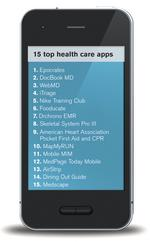 Health care apps increase in importance and popularity