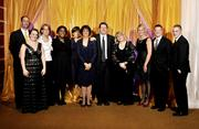 Some of the Dayton Business Journal staff at the 2012 Business of the Year awards.