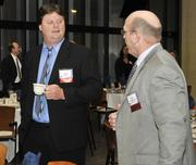 Chuck Webb and Alan Puterbaugh with MacAulay Brown.