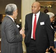 "Maurice ""Mo"" McDonald with the Dayton Development Coalition."